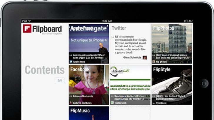 Yahoo ve Google da Flipboard'u satın almayı düşünüyor