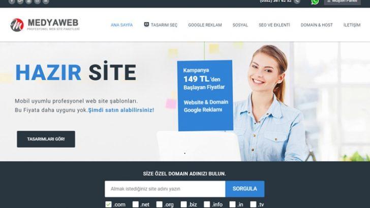 Kurumsal Hazır Web Sitesi Paketleri