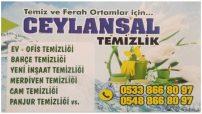 Kıbrıs Temizlik Şirketi CEYLANSAL TEMİZLİK