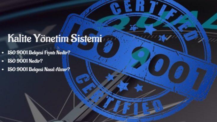 ISO Belgesi Alma